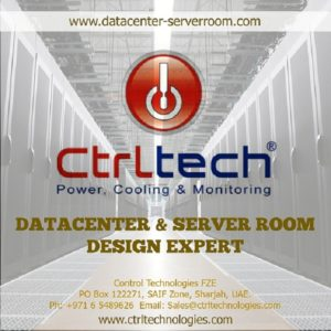 CtrlTech data center (datacenter) & Server room design exper in UAE.