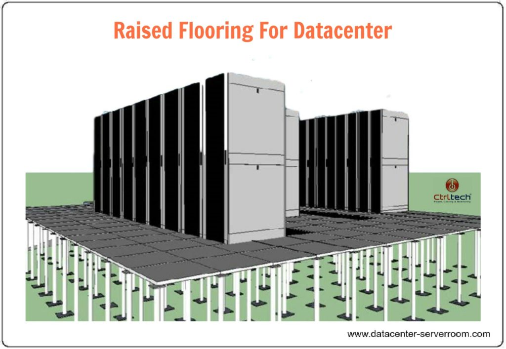 Raise floor or raised flooring for server room and data center.