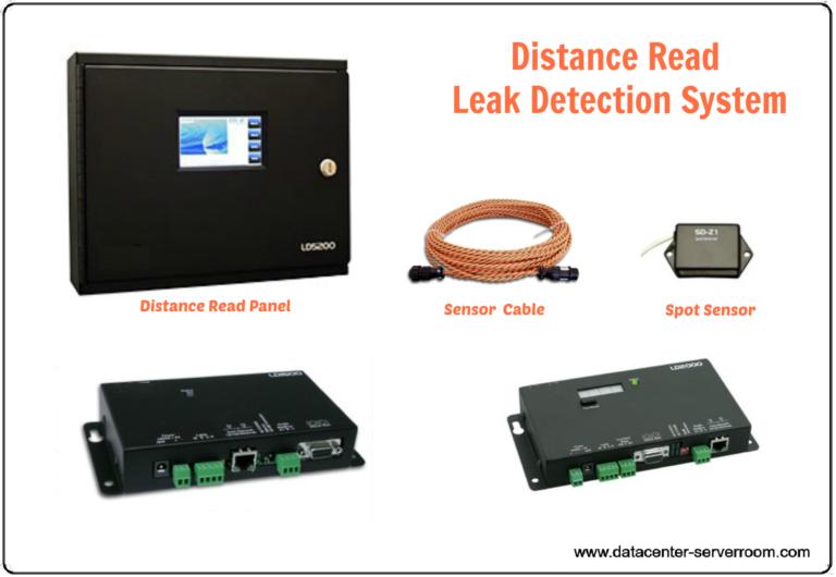 Distance leak detection panel with sensor