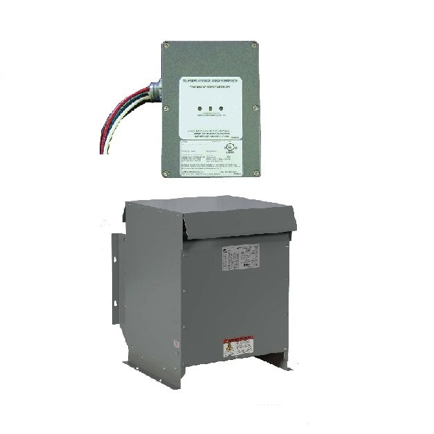 Power equipment consist of TVSS, isolation transformer, frequency convert etc.